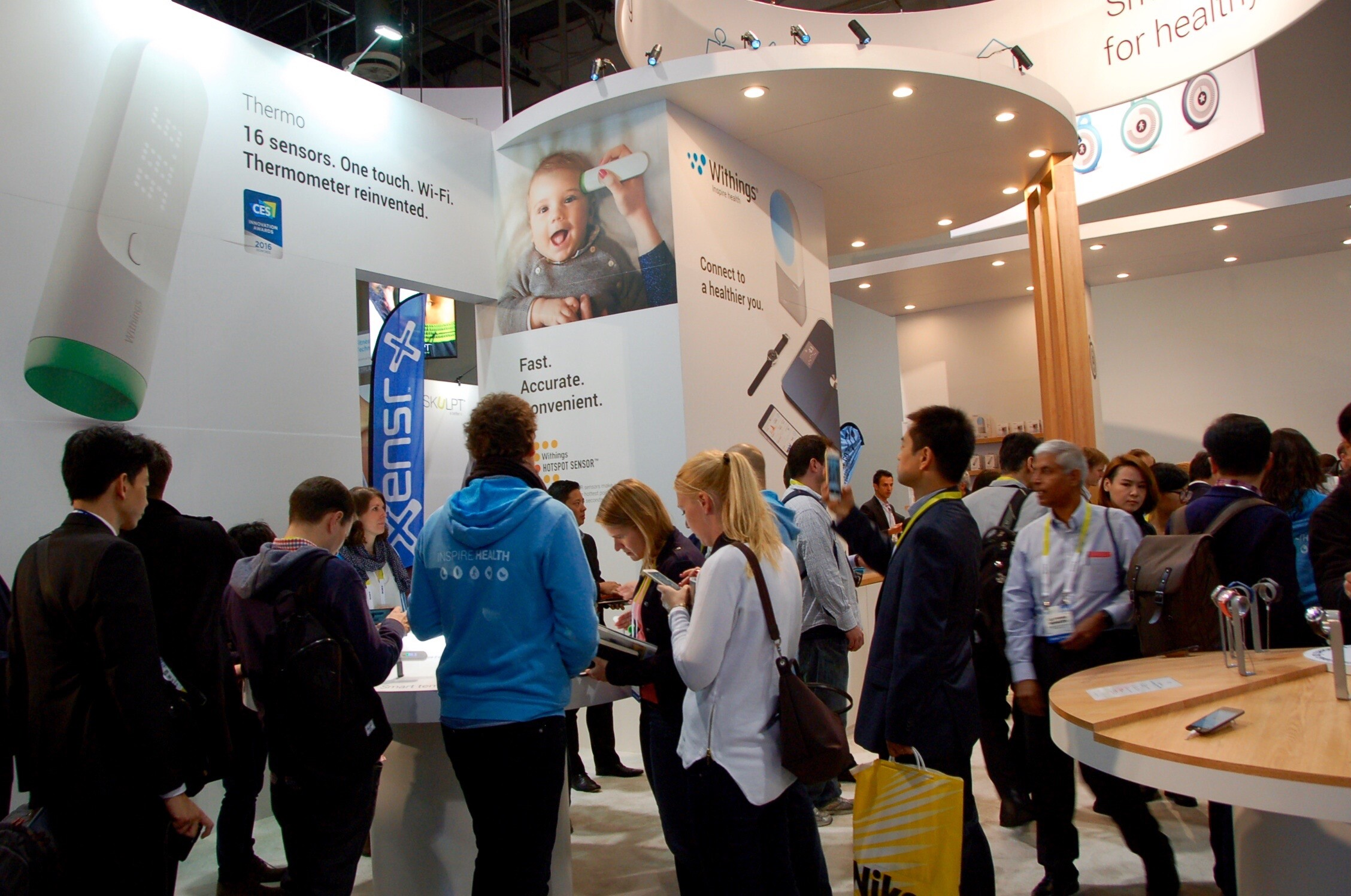 Honored As A Finalist At The 2016 CES Innovation Awards In Two Categories,  And Given U0027Best Of CESu0027 Awards From Many Major Publications, Withings  Thermo Is ...