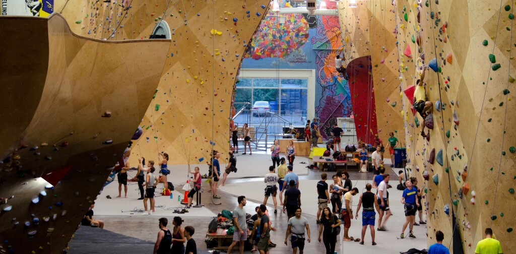 Indoor Rock Climbing Exclusive Brooklyn Boulders Interview Withings