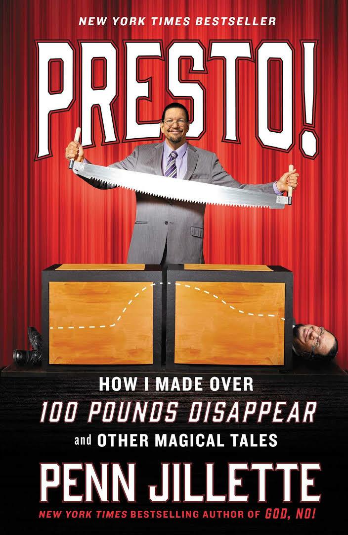 Penn Jillette svorio metimo skalė