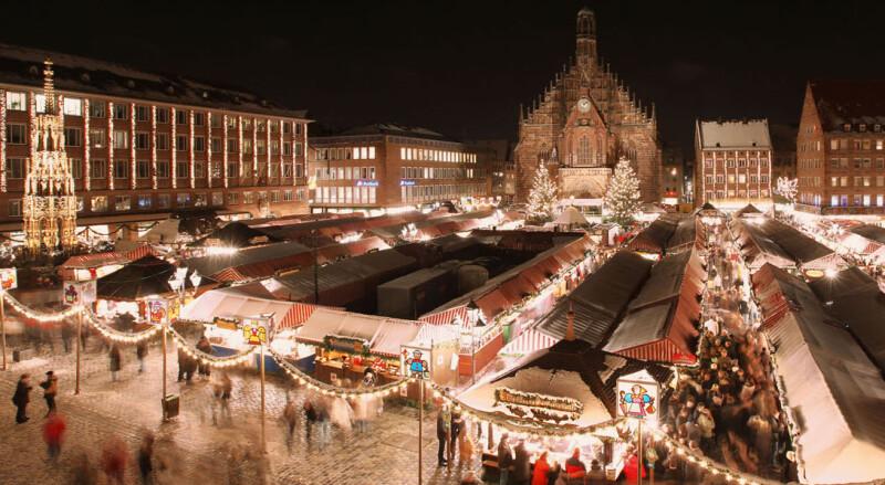 Aufnahmen vom Nürnberger Christkinlesmarkt 2010