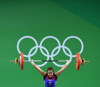 RIO DE JANEIRO, BRAZIL - AUGUST 06:  Sopita Tanasan of Thailand competes in the Women's 48kg Group A Final on Day 1 of the Rio 2016 Olympic Games at Riocentro - Pavilion 2 on August 6, 2016 in Rio de Janeiro, Brazil.  (Photo by David Ramos/Getty Images)