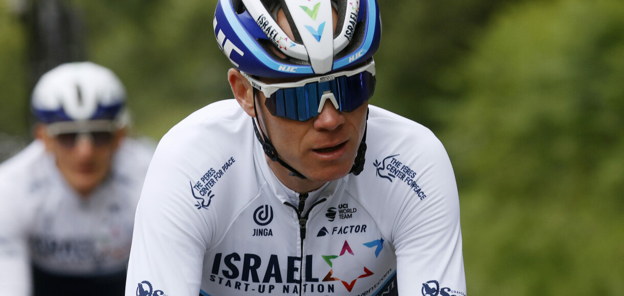 BREST, FRANCE - JUNE 24: Chris Froome of The United Kingdom and Team Israel Start-Up Nation during 108th Tour de France 2021, Training / @LeTour / #TDF2021 / on June 24, 2021 in Brest, France. (Photo by Chris Graythen/Getty Images)