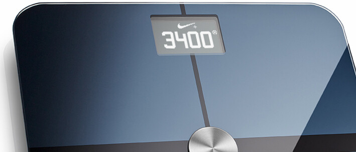 nikefuel withings scale