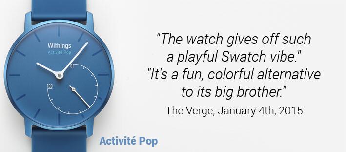 POP US quote TechCrunch Swatch