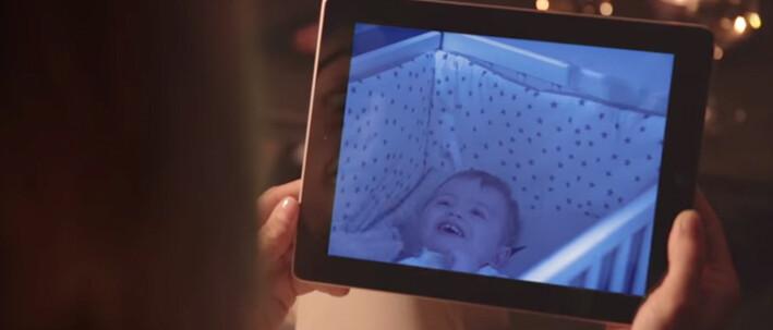 panneau vision nocturne bébé