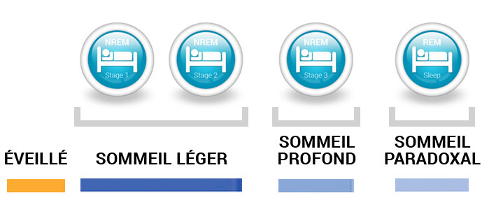panneau cycles SOMMEIL