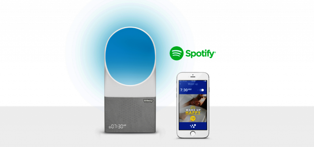 spotify aura wake-up light