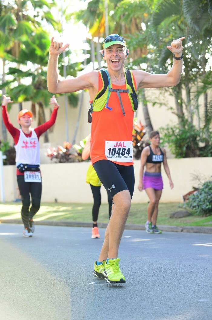 Marathon success Tony Barnhill