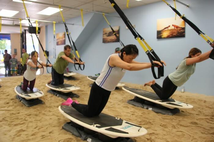 Sandbox fitness class