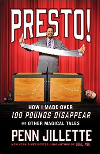 Penn Jillette weight loss story