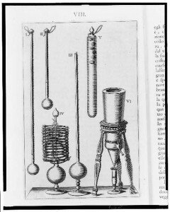 Florentine thermometers , 1667